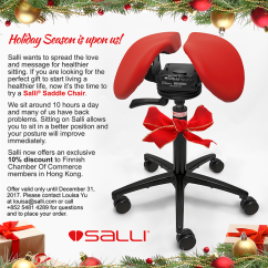 Salli Saddle Chair Wing Slipcovers Canada By Holiday Season Discount Code Is Upon Us And Wants To Spread The Message Of Healthier Sitting Also Finncham Members Enjoy A Special Offered Our