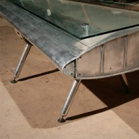 Finnegan Gallery - Airplane Fin Coffee Table