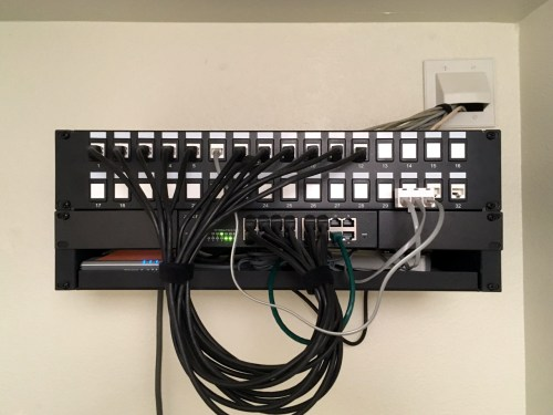 small resolution of home sweet home home network wiring home network wiring patch panel home network wiring