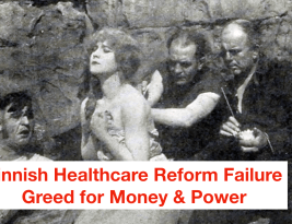 "Greed killing Healthcare ""Reform"""