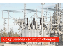 Finns Pay 40% More for Electricity than Swedes!