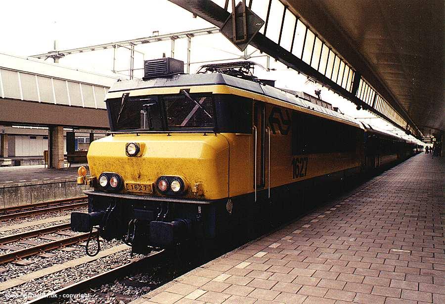 請問荷蘭的火車車種? - TTS