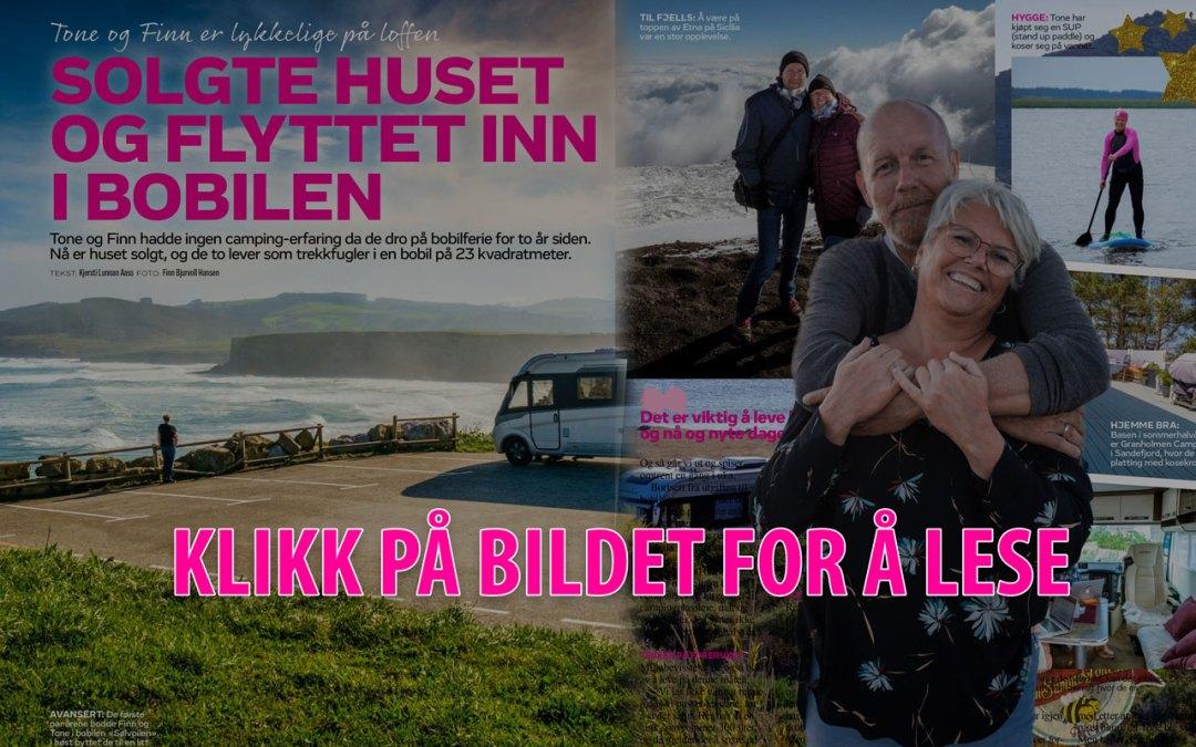 FinnSummeTone i ukebladet Hjemmet