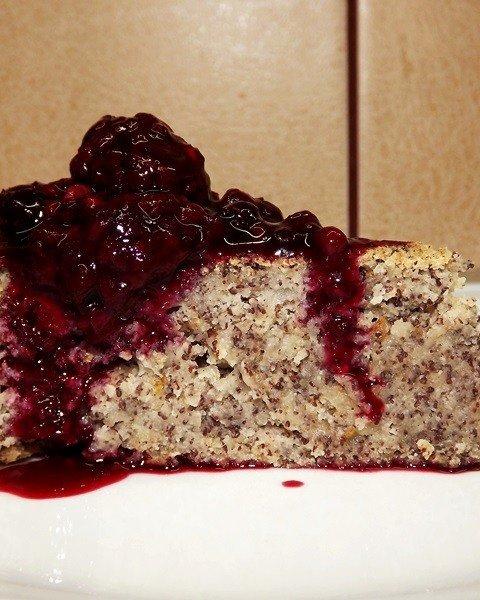 mákos körtés torta