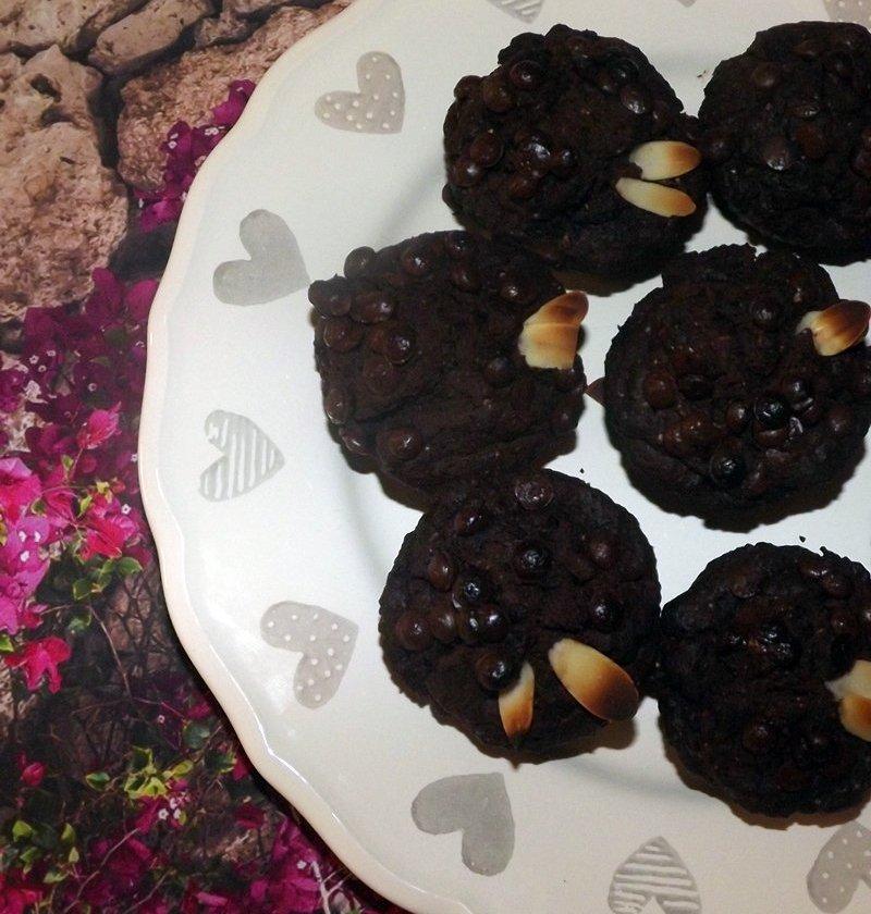 nagyon csokis muffin