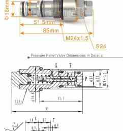 komatsu pc200 7 8 excavator safety valve pressure safety valve [ 951 x 1922 Pixel ]