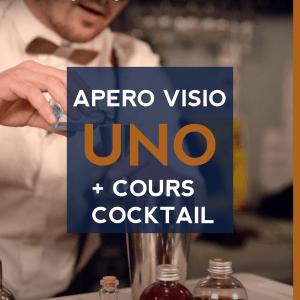 Cours cocktail virtuel à domicile