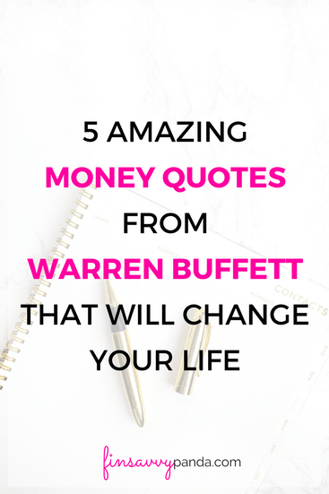 5 Amazing Money Quotes From A Billionaire That Will Change Your Life