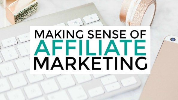 make money online - affiliate marketing