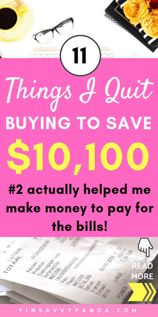 How To Stop Buying Things: 11 Things I Stopped Buying To