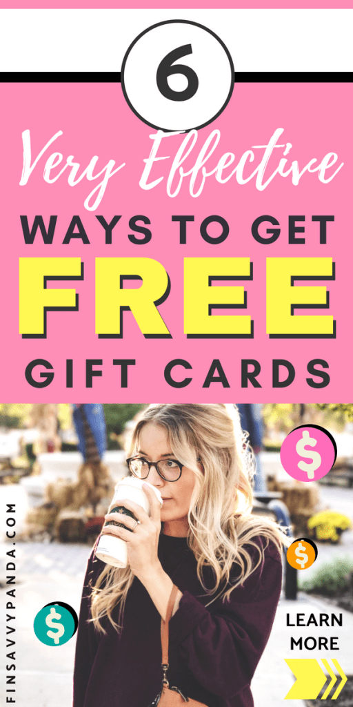 How To Get Free Gift Cards Online - Finsavvy Panda