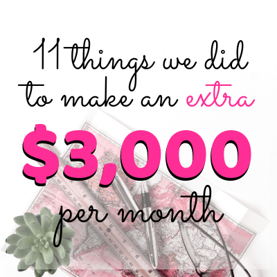 how to make extra money each month