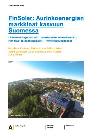 FinSolar aurinkoenergiatietoa