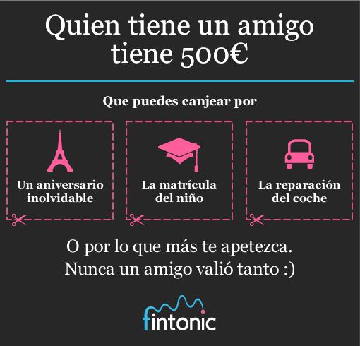 Fintonic ayuda en la cuesta de enero con 1.000€. Averigua cómo.