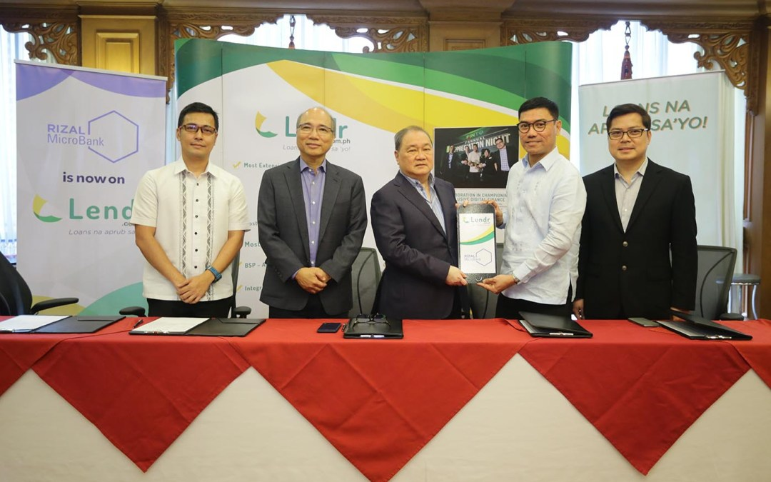 Rizal MicroBank goes into digital lending through Lendr