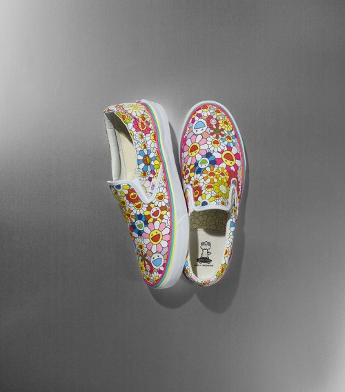 murakami-classic-slipon-flower-multi-color