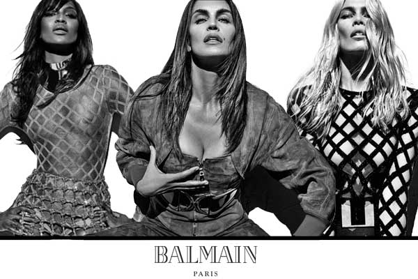 Balmain-90s-supermodels.FashionParade