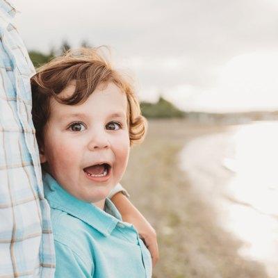 Ferry Beach | Bainbridge Island Family Photographer
