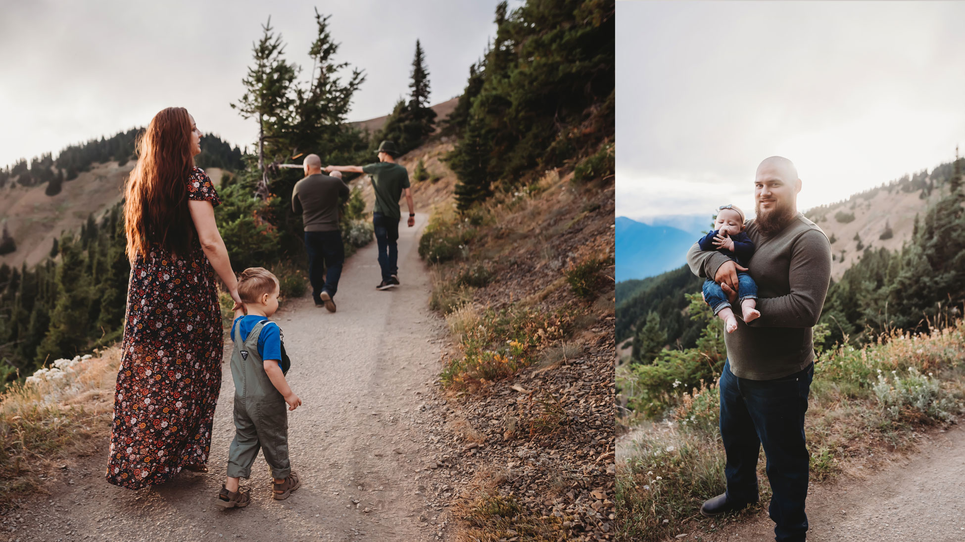 hurricane ridge adventure family session