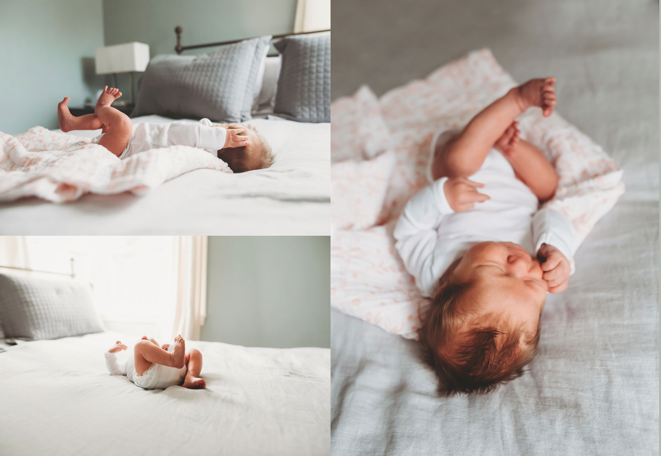 snuggly newborn session in seattle
