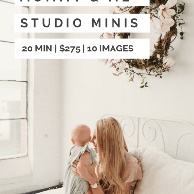 Mommy & Me Sessions | Seattle Studio Family Photography