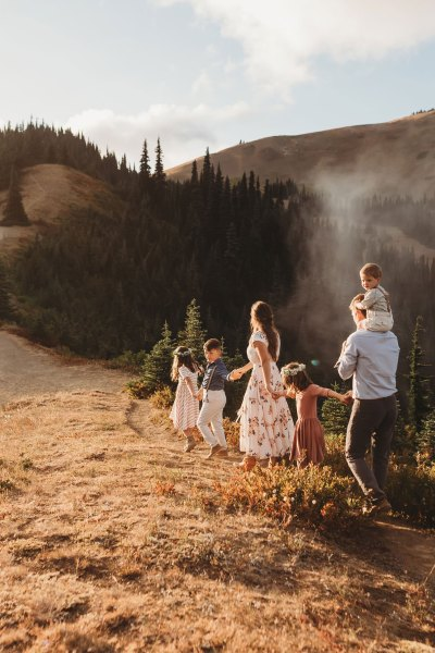 Olympic National Park Family Session