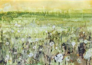 river meadow, 2012, mixed media