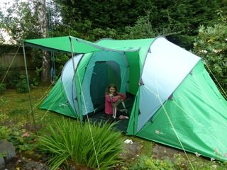 Little ... & Kit review: Freedom Trail Airedale family tent - FionaOutdoors
