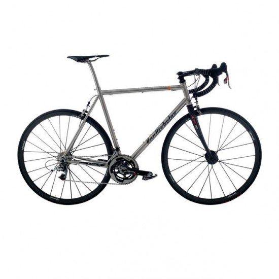van_nicholas_chinook_red_11_speed_titanium_road_bike