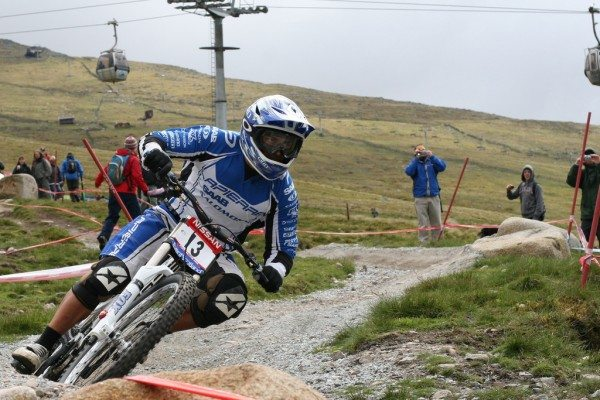Fort William downhill mountain biker. Pic credit: Douglas Cook on Flickr