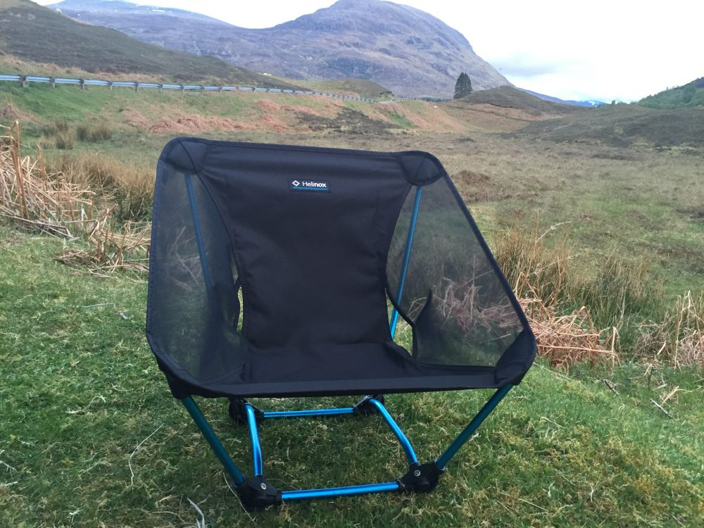 Helinox Ground Chair for camping  FionaOutdoors