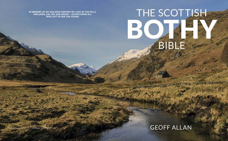 Geoff Allan: Author of The Scottish Bothy Bible - FionaOutdoors