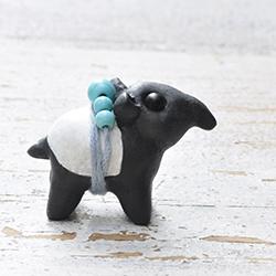 polymer clay tapir