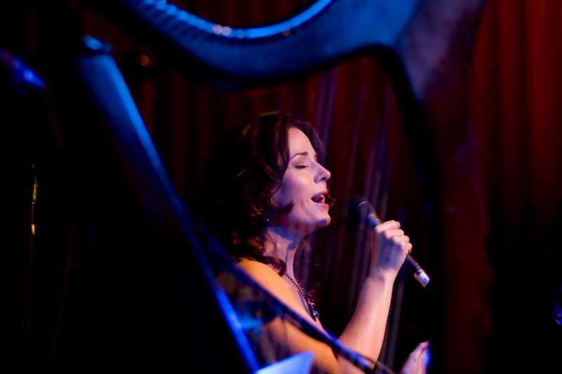 Fionnuala Gill performs at launch of her debut album Whispers of Love