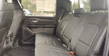 rebel black interior rear
