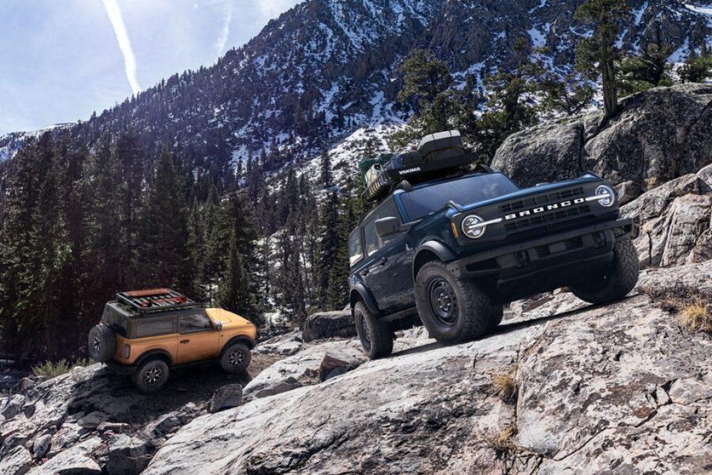 Ford Bronco e porte