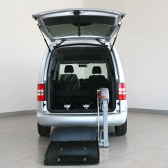 Wheelchair Car Cane Hanging Chair New Zealand Accessivle Volkswagen Caddy With Lift - Fiorella Ws