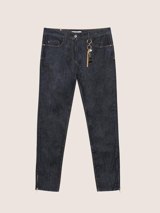 Fiorellarubino: Jeans skinny con charms Blu_1