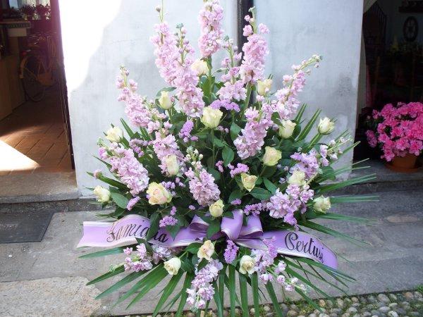 Funebre  Fioreria del Corso  Fiori Vigevano  consegna fiori a Vigevano  bouquet e mazzi di