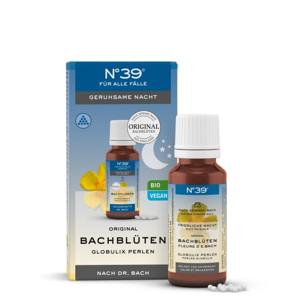 Perle Globulix Notte tranquilla Peaceful Night 39 Per tutti i casi For Emergencies Fiori di Bach originali Lemon Pharma bach flower White Chestnut
