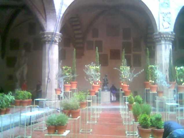 allestimento al Bargello Firenze