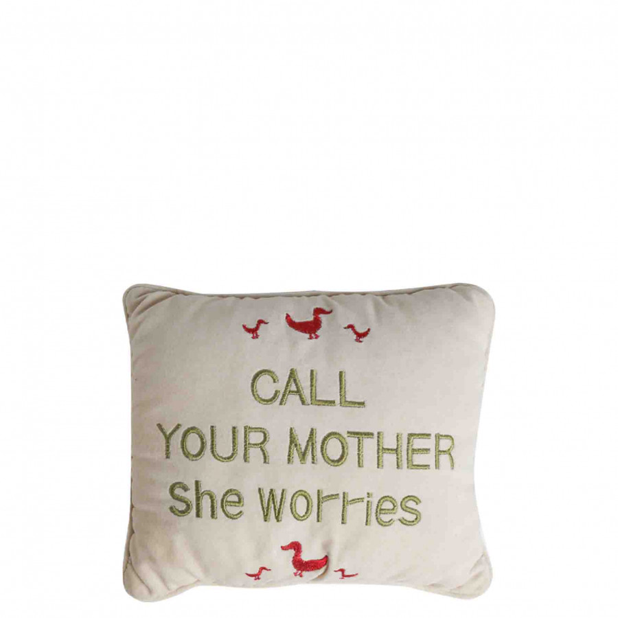 mini pillow with ducks call your
