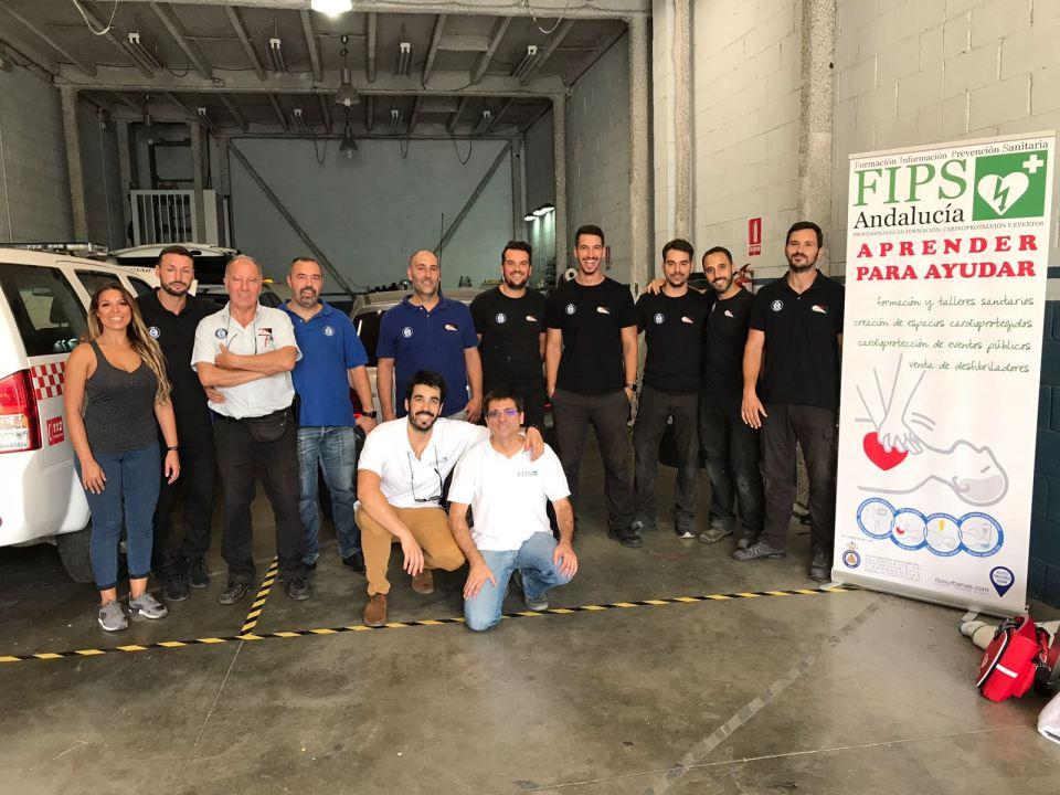 PP ELECTRONICA con integrantes de FIPS ANDALUCIA