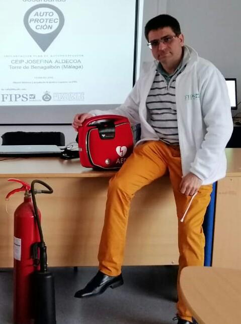 José Sánchez,,asesor en cardioproteccion.
