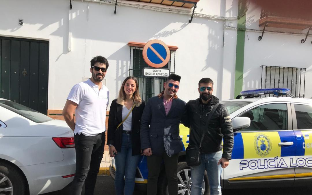 CARRION DE LOS CESPEDES SE ENCUENTRA YA CARDIOPROTEGIDO POR SUS POLICIAS LOCALES
