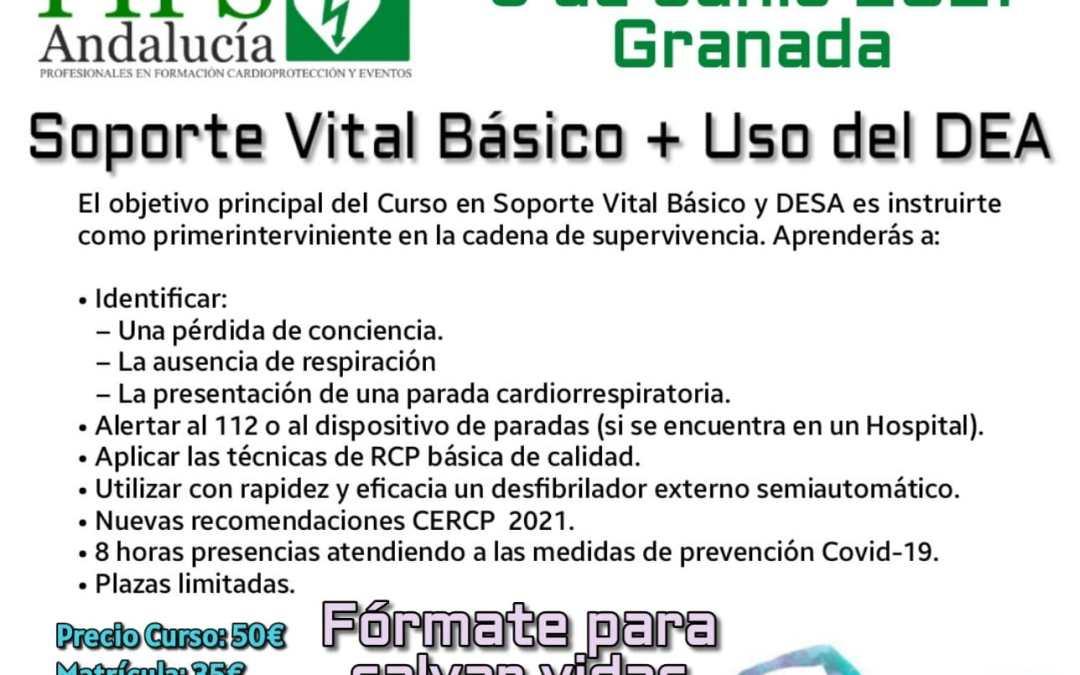 CURSO SOPORTE VITAL BASICO Y DESA FIPS ANDALUCIA Y PRECI.SOS.