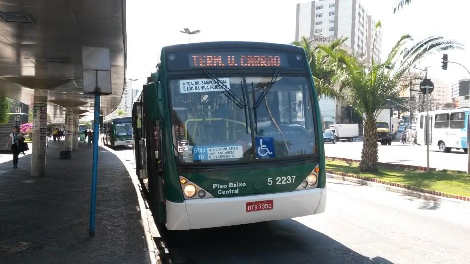 Pior linha de ônibus de São Paulo se mantém líder de reclamações