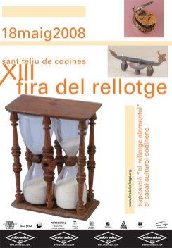 Cartell XIII Fira Any 2008