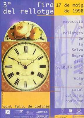 Cartell III Edició Fira del Rellotge
