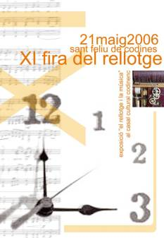 Cartell XI Fira any 2006